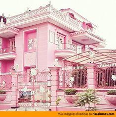 La casa de Hello Kitty.