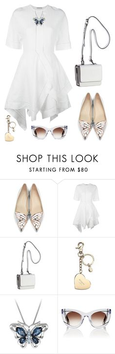 """""""Untitled #1857"""" by ebramos ❤ liked on Polyvore featuring Sophia Webster, J.W. Anderson, Kendall + Kylie, Aspinal of London and Thierry Lasry"""