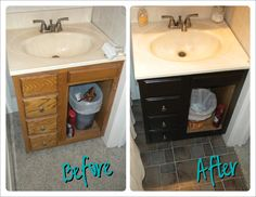 Don't worry. Be happy. Keep learning.: Bathroom redo.