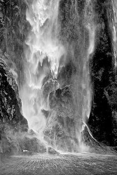 Stirling Falls, Milford Sound, South Island, New Zealand Copyright: Eric Daniels
