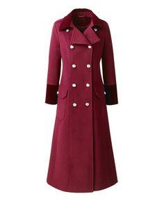 """Joanna Hope"" Joanna Hope Double Breasted Coat at Simply Be"