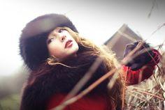 woman, portrait, kobieta, portret, fotoris, winter, zima