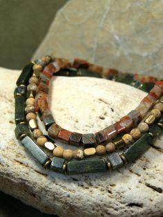 Mens Bracelet, Stretch Bracelet, Jasper Stone Bracelet, Mens Jewelry, Gemstone Bracelet, Beaded Bracelet by StoneWearDesigns on Etsy https://www.etsy.com/listing/166101929/mens-bracelet-stretch-bracelet-jasper