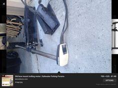 From this broken chain drive Min Kota to my Kayak mounted trolling motor