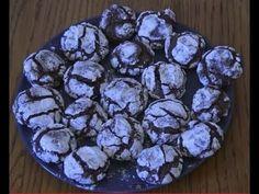 Recette de craquelés au chocolat (Recette Cuisine Companion Moulinex)