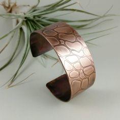 Copper Cuff Copper Bracelet Handmade Copper by MeganAliceJewelry