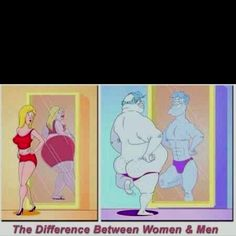 One of the many differences