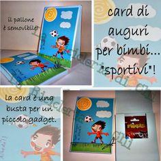 La Ricicleria di Chi: Card di compleanno per piccoli calciatori!
