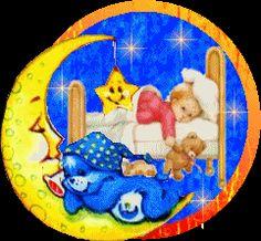 Na dobranoc - gify animowane obrazki