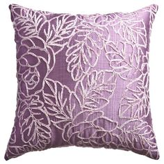 Flora Pillow in Lilac