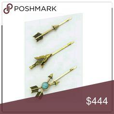 🆕3 piece arrow hair pin 3 piece arrow hair pin *price is firm unlesss bundled Accessories Hair Accessories