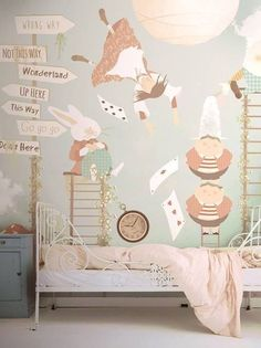 amazing alice in wonderland kids room