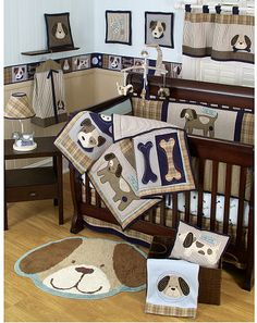 I think I just have to go with a puppy-themed nursery!