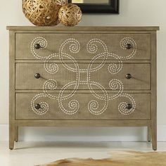 I pinned this Curlacue Chest from the Hooker event at Joss and Main!