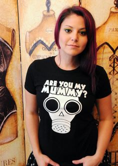 The Empty Child Are you my Mummy.  Women's fitted by evietees, $20.50