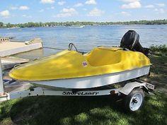 1983 aqua lark boat small mini aqualark collector addictor boat zamco