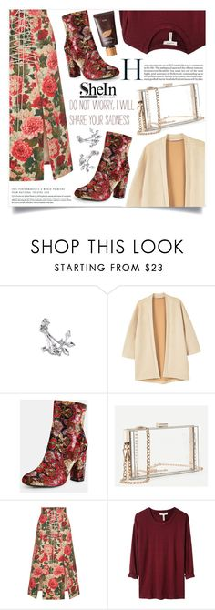 """Bez naslova #1673"" by violet-peach ❤ liked on Polyvore featuring MANGO, Vilshenko, Étoile Isabel Marant and tarte"