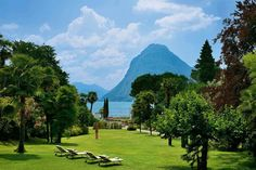 Boutique Hotel Lugano - Ideal für holidays in Lugano, Holidays in Ticino, Switzerland Lugano, Small Luxury Hotels, Luxury Travel, Hotel Breaks, Hotel Concept, Tuscany Italy, Grand Hotel, Boutique, Outdoor Travel