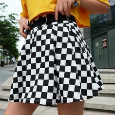 Pleated Plaid Skirts Womens High Waisted Checkered Skirt Harajuku Dancing Korean sold by Kutulo. Shop more products from Kutulo on Storenvy, the home of independent small businesses all over the world. Casual Skirts, Plaid Skirts, Cheap Skirts, Short Skirts, Harajuku, Pleated Mini Skirt, Mini Skirts, Skater Skirt, Grunge Outfits