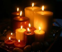 CANDLES AND ROMANCE