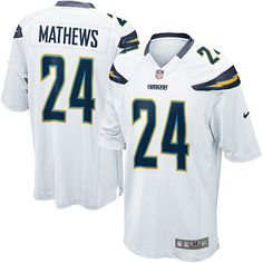 Youth Nike San Diego Chargers #24 Ryan Mathews Limited White NFL Jersey Sale