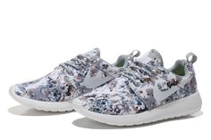 Nike Roshe Run Mesh Womens London grey fabric
