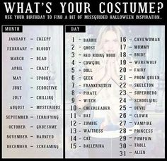 lol - Halloween Name Ideas