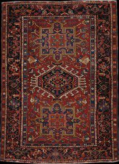 Persian Karaja rug, early 20th c