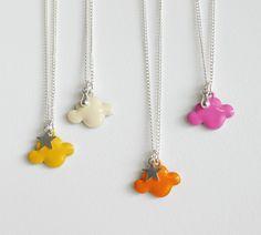 """collier """"sur mon petit nuage"""" by Mamoizelle Bazar"""