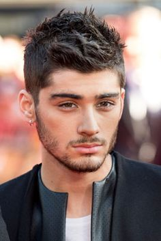 From Side Sweeps to Spiked 'Dos, One Direction's Best Hair Moments: Zayn Malik, August 2013