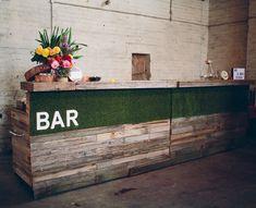 Dress my wedding - Wooden Bars