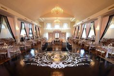 Glorious New Orleans Wedding Reception at Crystal Palace - MODwedding