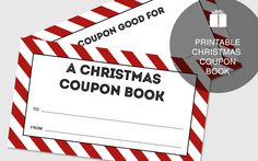 A free printable Christmas coupon book for gifting during the holidays. Perfect to give experiences instead of more stuff.