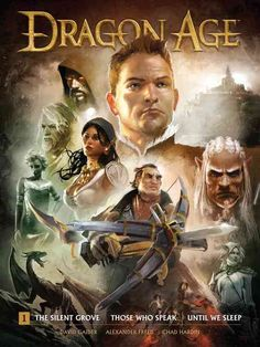 Helping set the stage for BioWare's hotly anticipated Dragon Age: Inquisition , this deluxe oversized hardcover collects every Dark Horse Dragon Age comic to date-- The Silent Grove, Those Who Speak ,