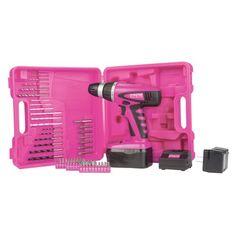 The Original Pink Box PB18VNIC Pink 18-Volt Cordless Drill The Original Pink Box http://www.amazon.com/dp/B00A73GQAI/ref=cm_sw_r_pi_dp_-dLkub1CE41RJ