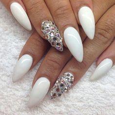 Blanco y plata