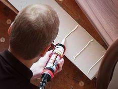 Laminat auf Treppen verlegen, Setzstufe verkleben, Foto: BHK Holz- und Kunststoff KG H. Kottmann
