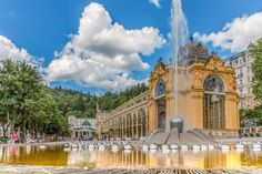 Find out the Best of Marienbad / Mariánské Lázně, beautiful spa town in Czech Republic. Check out the #Collonade, the #SingingFountain or the  #Boheminium #Miniaturpark where you can find the Best of Czech architecture!