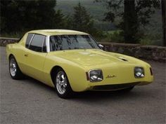 1964 Studebaker Avanti. Maintenance/restoration of old/vintage vehicles: the material for new cogs/casters/gears/pads could be cast polyamide which I (Cast polyamide) can produce. My contact: tatjana.alic@windowslive.com