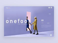 Foot in the door (Ui design landing page) designed by DLS DESIGN. Connect with them on Dribbble; the global community for designers and creative professionals. Graphisches Design, Layout Design, Creative Design, Logo Design, Website Design Inspiration, Graphic Design Inspiration, Branding, Dm Poster, Poster Layout
