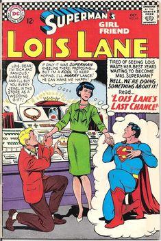 Lois Lane 69 DC Comics Superman's Girlfriend Marriage Lori Lemaris Lana Lang 1966 FN by LifeofComics Lana Lang, Dc Comics, Comics For Sale, Superman And Lois Lane, Superman Family, Dc Comic Books, Comic Book Covers, Comic Art, Superman Girlfriend
