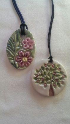Ceramic pendants /Özlem Menekay