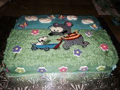 Toopy and Binou cake Birthday Ideas, Birthday Cake, Sons, Treats, Party, Sweet Like Candy, Goodies, Birthday Cakes, My Son