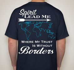 Danielle's Mission Trip to Haiti & East Asia Fundraiser - unisex shirt design - back