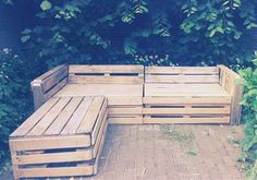 Patio furniture ideas made from pallets