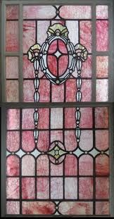 beautiful pink stained glass♥