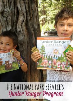 The National Park Service's Junior Ranger Program is a fun way for kids to learn more about a park during their visit. Here's the scoop on the program and how to participate during your next family vacation. National Parks Usa, Yosemite National Park, Hiking With Kids, Travel With Kids, Family Camping, Family Travel, Kids Travel Activities, Highlights Kids, Spring Break 2016