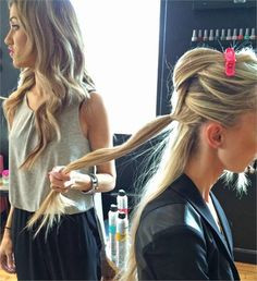 How-To: Pull-Through Pony into Fishtail - Events - Modern Salon