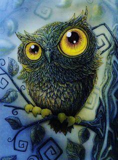 ✯ 'Owl' by Lia Selina ✯