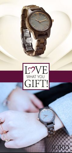 Shop our collection of wood watches for women & her by JORD. JORD is a premium designer of hand-crafted wood watches for ladies. Jewlery, Jewelry Box, Timing Is Everything, Valentines Gifts For Him, Wooden Watch, Finding Joy, Custom Engraving, Michael Kors Watch, Natural Wood